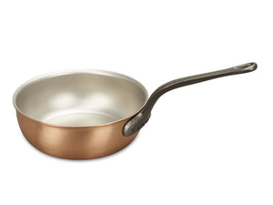 24cm Falk Copper Saucier Pan - Classical Range - Falk Culinair South Africa