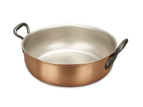 Falk Culinair South Africa - 28cm Falk Copper Stew Pan - Classical Range - 1