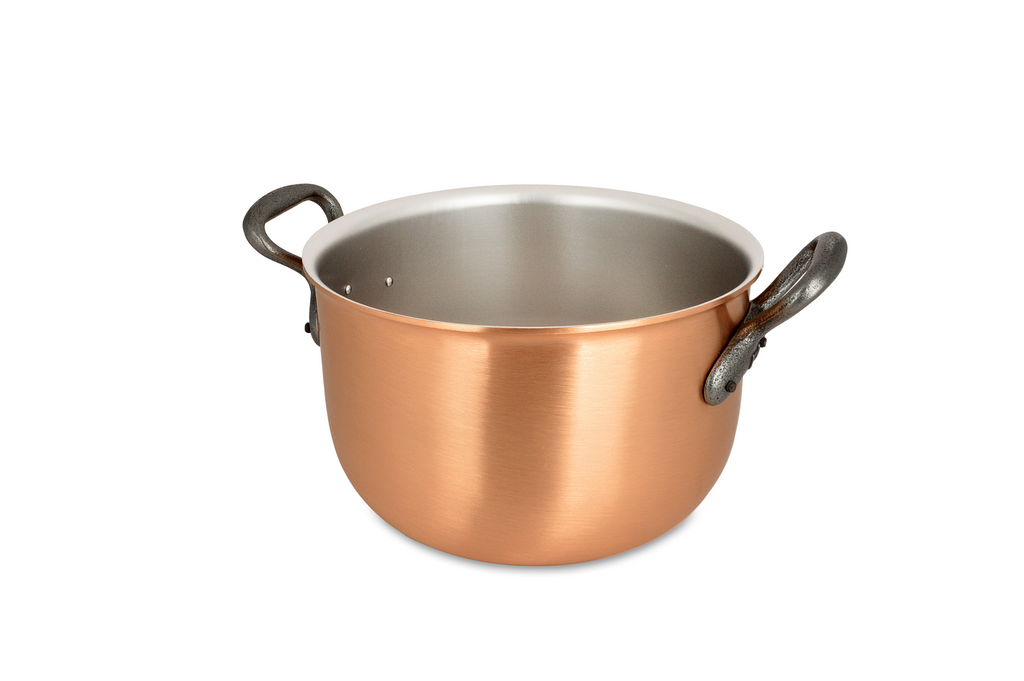 20cm Falk Copper Pot-au-feu - Classical Range - Falk Culinair South Africa