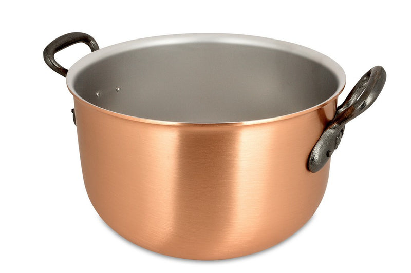 24cm Falk Copper Pot-au-feu - Classical Range - Falk Culinair South Africa