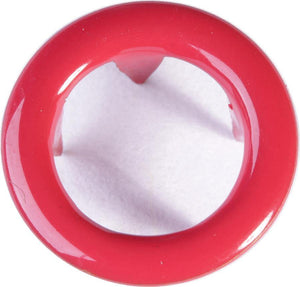 Snap buttons - 9mm Non-sew metal snap fasteners - Red (20 pcs)-Accessories-Jelly Fabrics