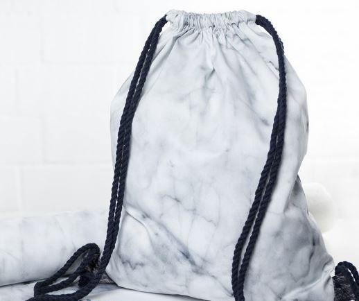 CUT & SEW - DIY Kit for Marble Effect Gym Bag