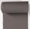 Rib Knit - Dark Taupe tubular ribbing-Rib Knit-Jelly Fabrics
