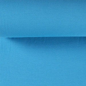 Rib Knit - Bright Blue tubular ribbing-Jelly Fabrics