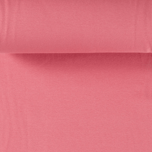 Rib Knit - Bubblegum Pink tubular ribbing-Jelly Fabrics