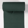 Rib Knit - Dark Green tubular ribbing-Rib Knit-Jelly Fabrics