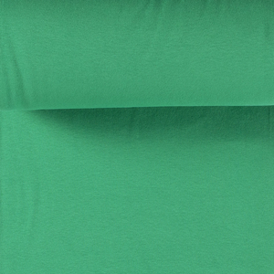 Rib Knit - Green tubular ribbing-Jelly Fabrics
