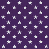 Jersey Fabric - Stars in Violet-Jelly Fabrics