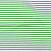 Jersey Fabric - Green with White Stripes-Jersey Fabric-Jelly Fabrics