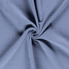 Triple Gauze Fabric - Solid in Indigo Blue-Muslin Fabric-Jelly Fabrics