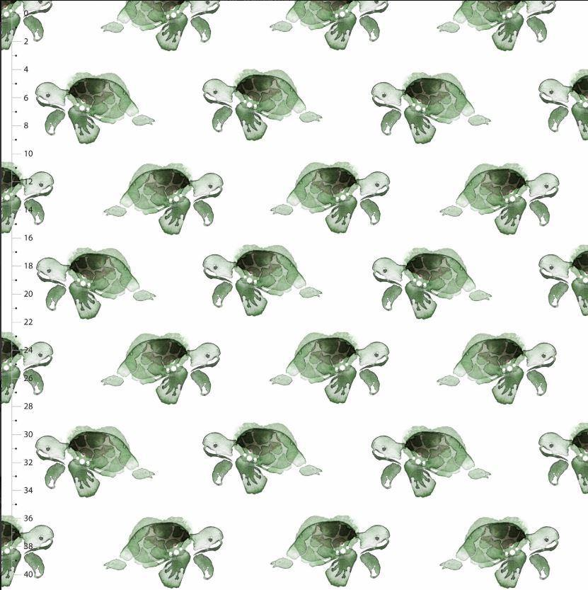 Organic Cotton Jersey Fabric - The Turtle Truls