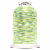 Gutermann Overlock Yarn - Bulky-Lock 80 : 1000 M Green Multicolour (9963)-Thread-Jelly Fabrics