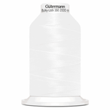 Gutermann Overlock Yarn - Bulky-Lock 160 : 2000 M Blank White (800)-Thread-Jelly Fabrics