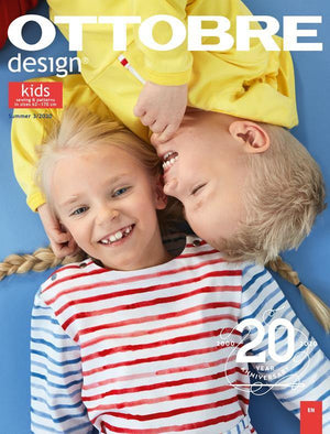Ottobre Design Magazine - Kids Summer 2020 (English)-Accessories-Jelly Fabrics