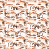 PRE-ORDER!!! - Cotton Jersey Fabric - Digital Safari Elephants