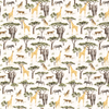 PRE-ORDER!!! - Cotton Jersey Fabric - Digital Safari Animals