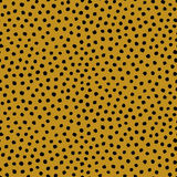 Organic Jersey Fabric - Dots in Ochre-Jersey Fabric-Jelly Fabrics