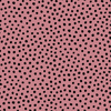 Organic Jersey Fabric - Dots in Old Rose-Jersey Fabric-Jelly Fabrics