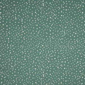 Jersey Fabric - Dots in Dusty Green-Jersey Fabric-Jelly Fabrics