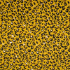 Jersey Fabric - Foil Printed Panther Spots in Ochre-Jersey Fabric-Jelly Fabrics
