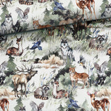 PRE-ORDER!!! - French Terry Fabric - Aquarelle Forest Animals-French Terry-Jelly Fabrics