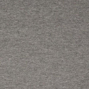 Jersey Fabric - Solid Dark Grey Melange-Jersey Fabric-Jelly Fabrics