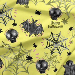 PRE-ORDER!!! - French Terry Knit Fabric - Happy Halloween-French Terry-Jelly Fabrics