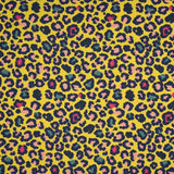 Jersey Fabric - Leopard in Yellow-Jersey Fabric-Jelly Fabrics