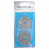 Milward Spare blades for rotary cutter 45mm (pack of 2)-Accessories-Jelly Fabrics