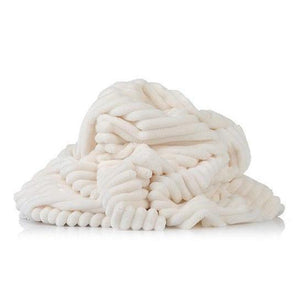 Plush Minky -  Stripes Cream