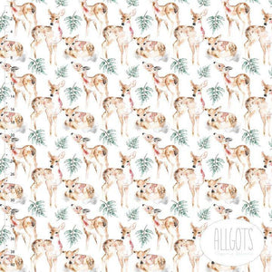 Organic Cotton Jersey Fabric - Oh Deer by Allgots-Organic Jersey-Jelly Fabrics