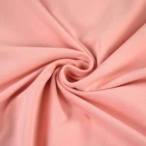 Jersey Fabric - Solid Peach-Jersey Fabric-Jelly Fabrics