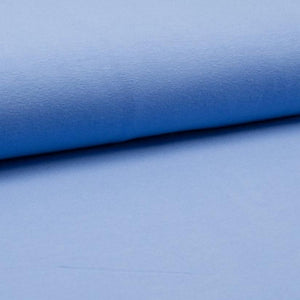 Jersey Fabric - Solid Periwinkle Blue-Jersey Fabric-Jelly Fabrics
