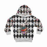 PRESALE!!! - Sweatshirt French Terry Knit - Wonderland Chessboard-Sweatshirt Knit-Jelly Fabrics