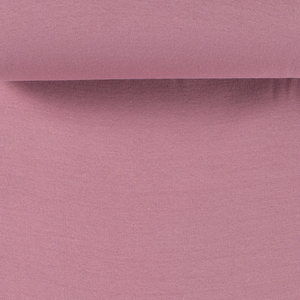 Rib Knit - Old Pink tubular ribbing-Rib Knit-Jelly Fabrics