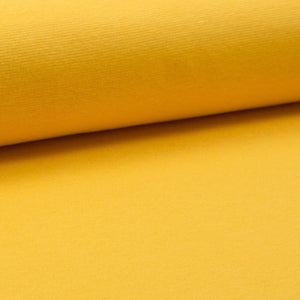 Tubular Rib Knit - Yellow ribbing-Rib Knit-Jelly Fabrics