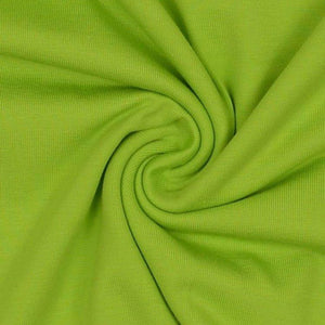 Jersey Fabric - Solid Kiwi Green-Jersey Fabric-Jelly Fabrics