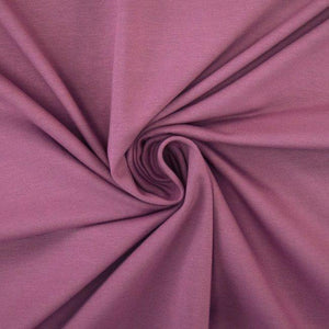 Jersey Fabric - Solid Vintage Rose-Jersey Fabric-Jelly Fabrics
