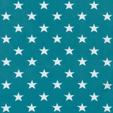 Jersey Fabric - Stars in Teal-Jersey Fabric-Jelly Fabrics