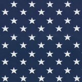Jersey Fabric - Stars in Dark Blue-Jersey Fabric-Jelly Fabrics