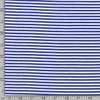 Jersey Fabric - Cobalt Blue with White Stripes-Jelly Fabrics