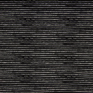 Cotton Jersey Fabric - Stripes in Black-Jersey Fabric-Jelly Fabrics