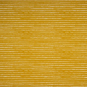 Cotton Jersey Fabric - Stripes in Ochre-Jersey Fabric-Jelly Fabrics