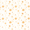 Cotton Jersey Fabric - Digital Sun and Stars-Jersey Fabric-Jelly Fabrics