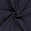 Triple Gauze Fabric - Solid in Dark Blue-Muslin Fabric-Jelly Fabrics