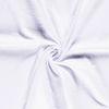 Triple Gauze Fabric - Solid in White-Muslin Fabric-Jelly Fabrics