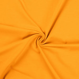 Jersey Fabric - Solid Yellow-Jersey Fabric-Jelly Fabrics