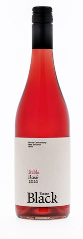 Black Estate 'Treble' Rose 2020 750ml