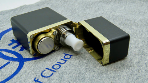 Gimmick by Athea Mods <br>Black <br>Aluminium & Brass Mod Box