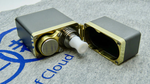 Gimmick by Athea Mods <br>Grey <br>Aluminium & Brass Mod Box